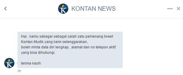 pemenang kontannews