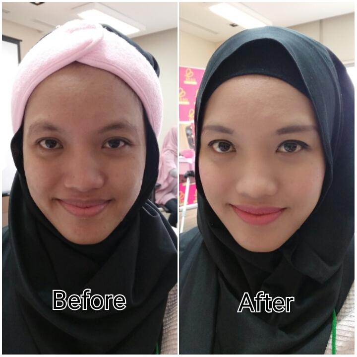 efek senyum bikin make up berantakan terlihat jadi sedikit lebih baik