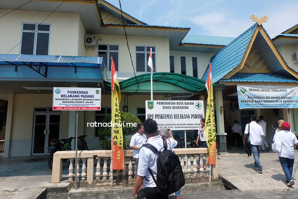 Puskesmas Kecamatan Belakang Padang, tempat dinas Tim Nusantara Sehat
