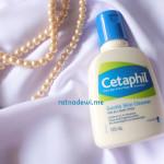 hasil pengangkatan bekas make up pada penggunan Cetaphil Gentle Skin Cleanser tanpa air