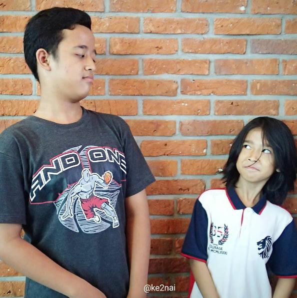 Keke dan Nai, inspirasi tulisan-tulisan di blog Mbak Chi (Source: instagram @ke2nai)
