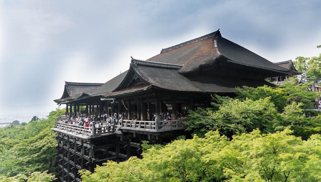Kuil Kiyomishu, kuil Budha di Kyoto (Picture from Pixabay)