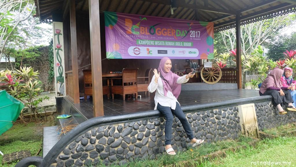 ngevlog tetap jalan terus selama Blogger Day 2017