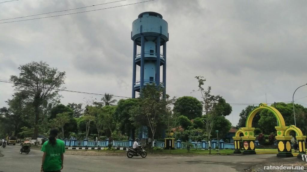 menara air PDAM Kutoarjo