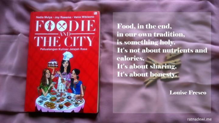 Book Review: Foodie and The City, Panduan Kuliner ala Mamah Muda