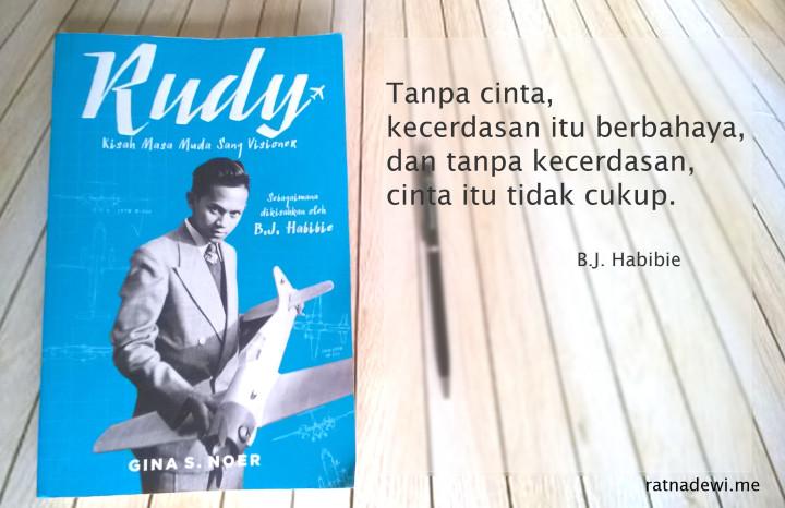 Book Review: Rudy, Mengungkap Sisi Lain Sang Visioner