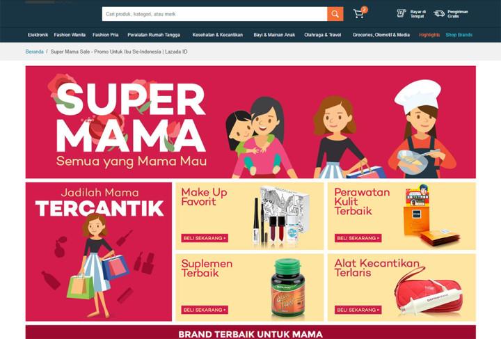 Bijak Berbelanja dengan Lazada Super Mama
