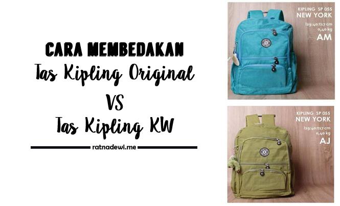 5 Cara Mudah Bedakan Tas Kipling Original dan KW