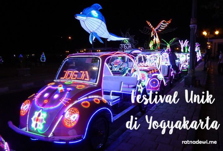 5 Festival Unik Ini Hanya Bisa Kita Jumpai di Yogyakarta Lho