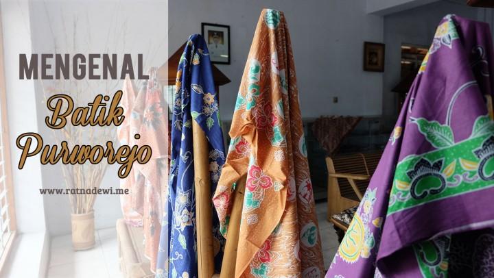 Batik Purworejo, Siap Bersaing di Tingkat Nasional Maupun Internasional