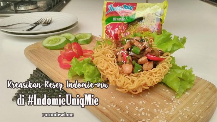 Jangan Cuma Mentok dengan Rebus dan Goreng, Kreasikan Resep Unik Indomie-mu di #IndomieUniqMie