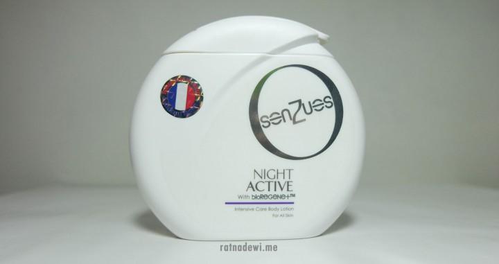 Kulit Sehat dan Bebas Dehidrasi di Malam Hari dengan Senzues NIGHTACTIVE