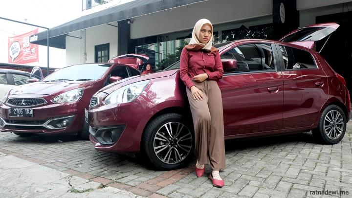 Mitsubishi New Mirage, Mobil Asyik untuk Mudik Si Keluarga Kecil