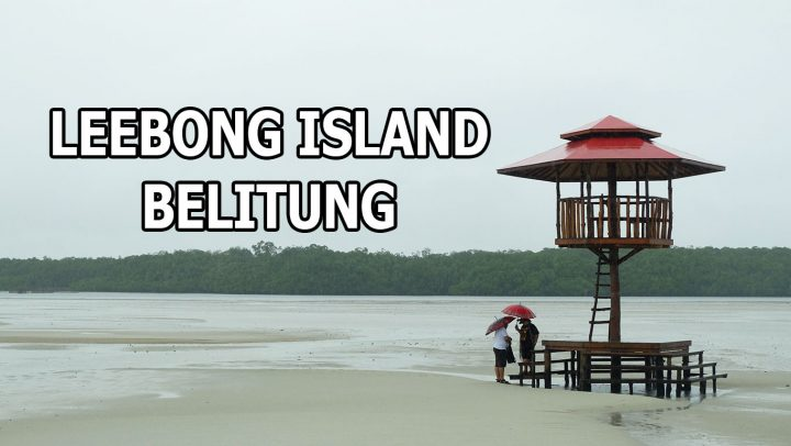Menikmati Pulau Leebong Saat Turun Hujan