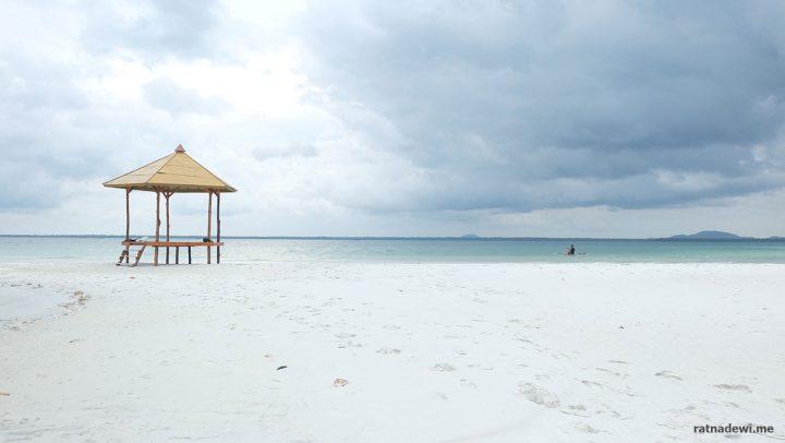 Menjumput Keindahan di Pulau Leebong, Belitung