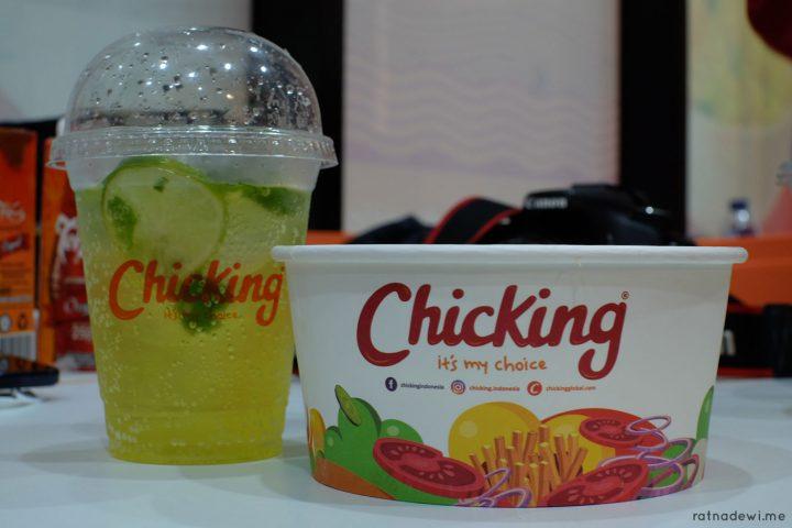 Icip-Icip Fast Food Rasa Timur Tengah di Chicking Ayam Top Dubai