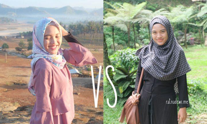 Kamu Tim Mana, Hijab Segi Empat atau Pashmina?