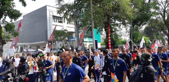 [SP] Meriahnya Kirab Obor Asian Games 2018 di Kota Solo