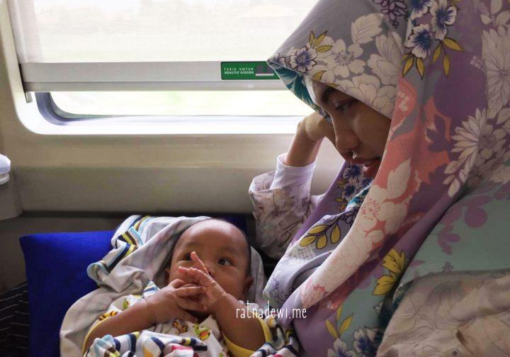 #CeritaIbu: Pengalaman Pertama Berkereta Api bersama Bayi