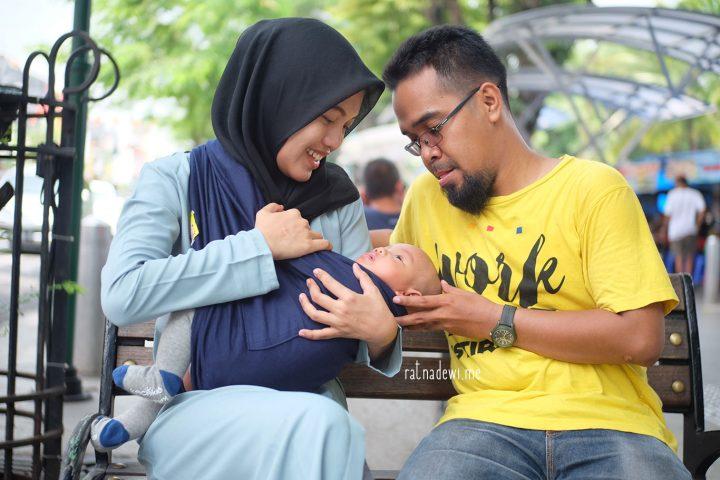 ´Piknik Tipis-Tipis´ Pertama Bertiga ke Yogyakarta
