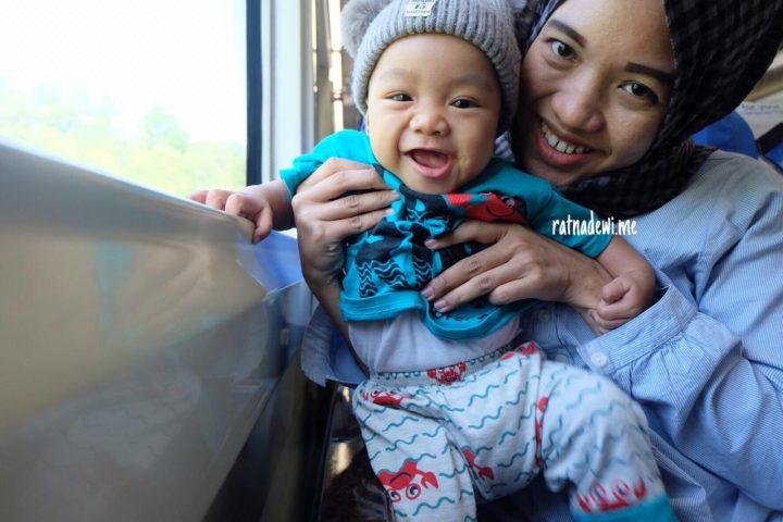 #CeritaIbu: Pengalaman Mudik Berdua bersama Bayi