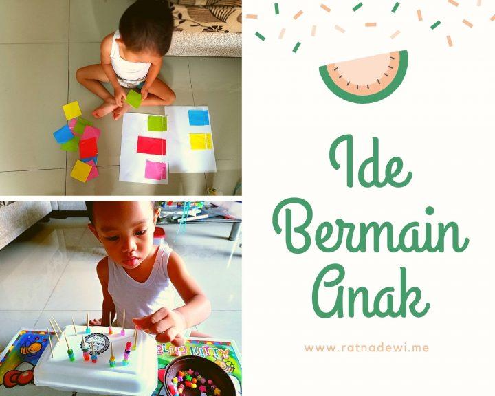 Ide Bermain Anak Usia 2 Tahun (Part 1)